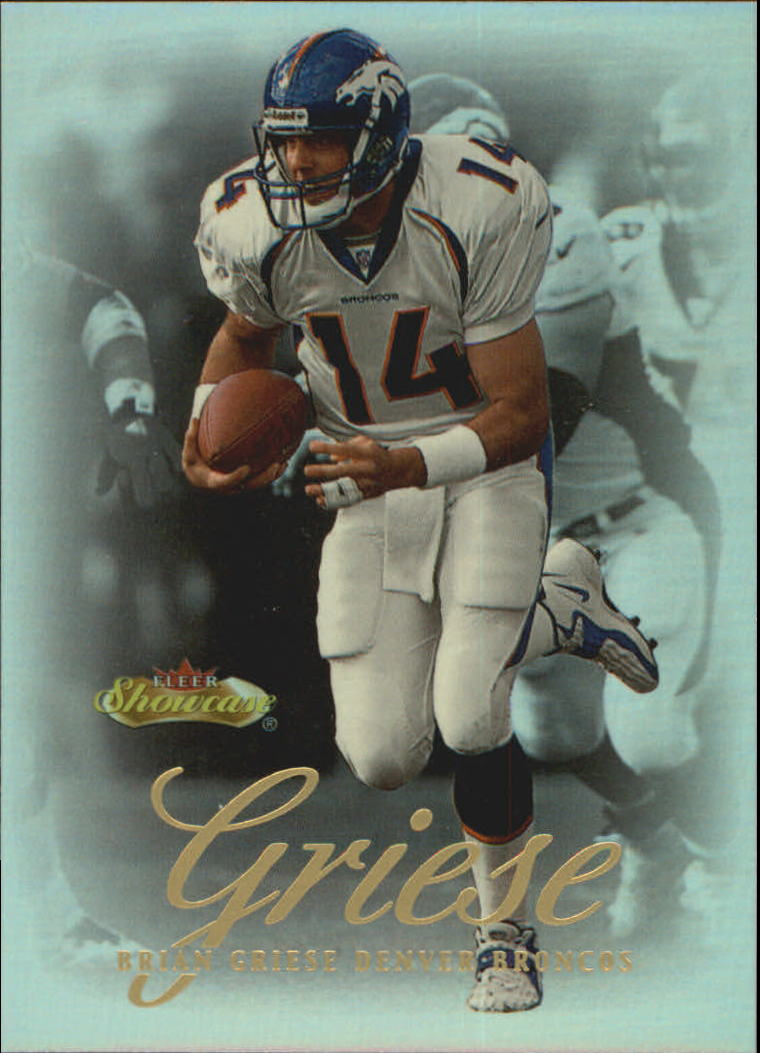 2000 Fleer Showcase #59 Brian Griese
