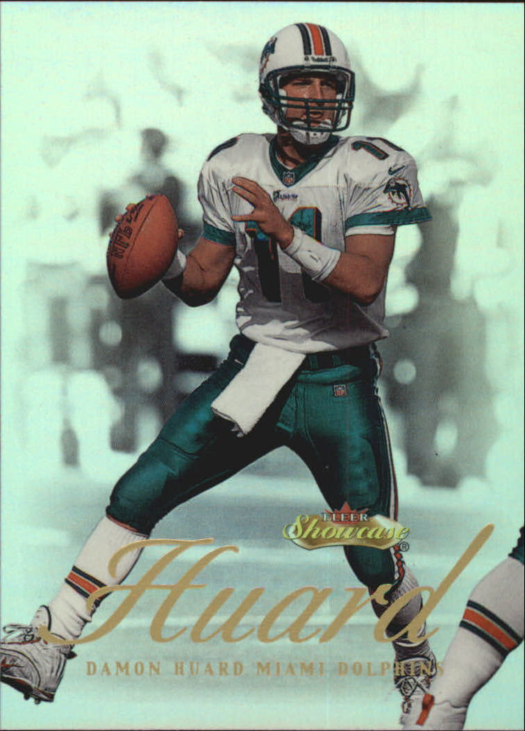 2000 Fleer Showcase #60 Damon Huard