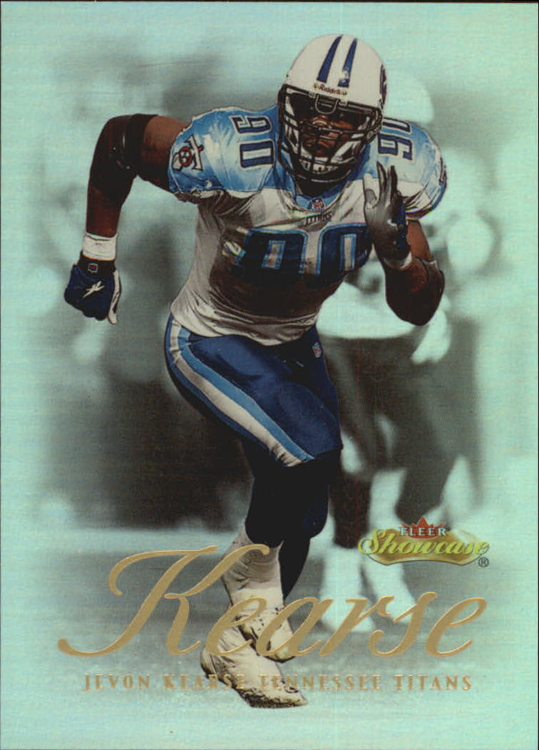 2000 Fleer Showcase #61 Jevon Kearse