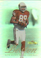 2000 Fleer Showcase #65 David Boston