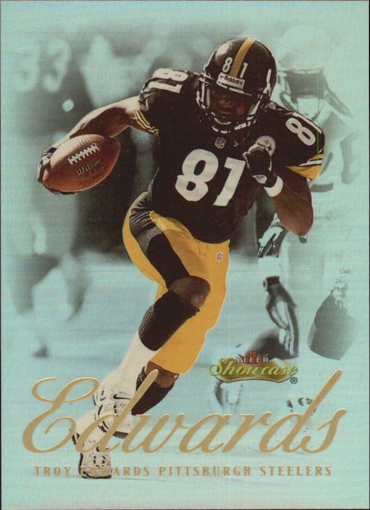 2000 Fleer Showcase #73 Troy Edwards