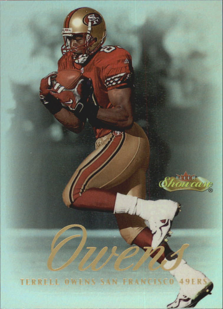 2000 Fleer Showcase #80 Terrell Owens