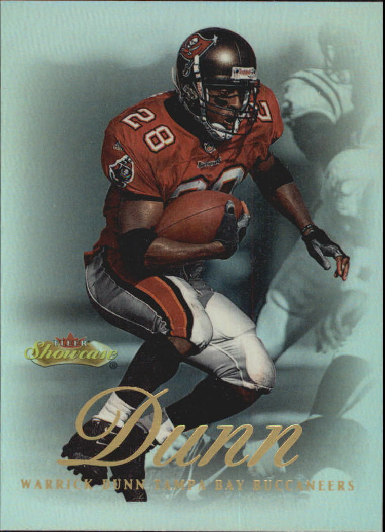 2000 Fleer Showcase #92 Warrick Dunn