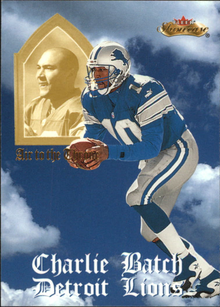 2000 Fleer Showcase Air to the Throne #2 Charlie Batch