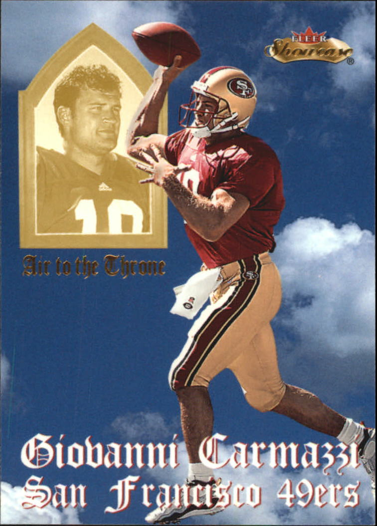 2000 Fleer Showcase Air to the Throne #3 Giovanni Carmazzi