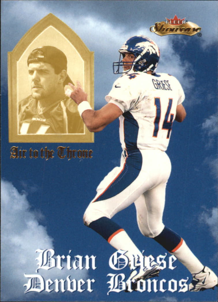 2000 Fleer Showcase Air to the Throne #4 Brian Griese