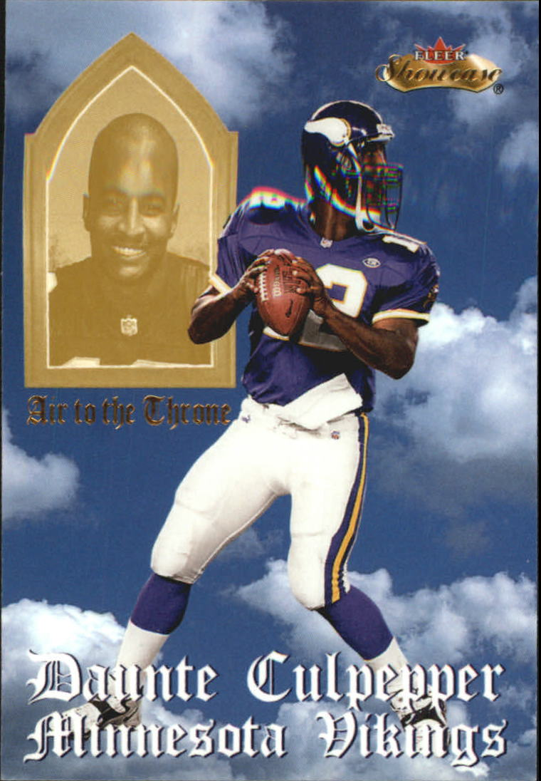 2000 Fleer Showcase Air to the Throne #5 Daunte Culpepper