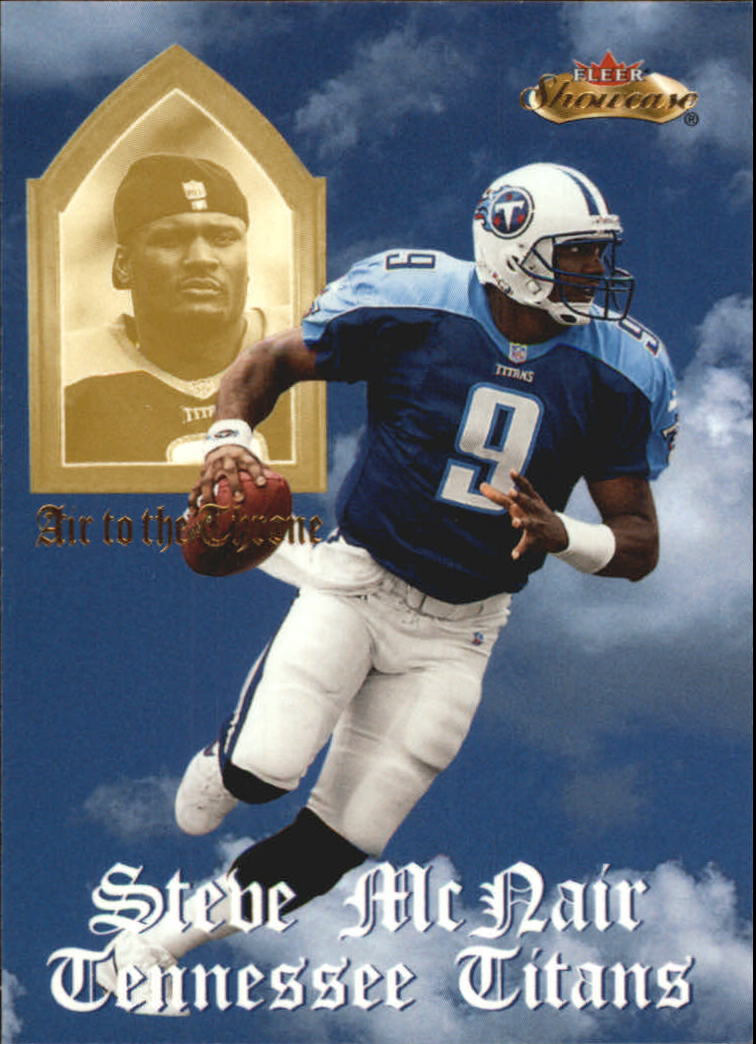 2000 Fleer Showcase Air to the Throne #6 Steve McNair