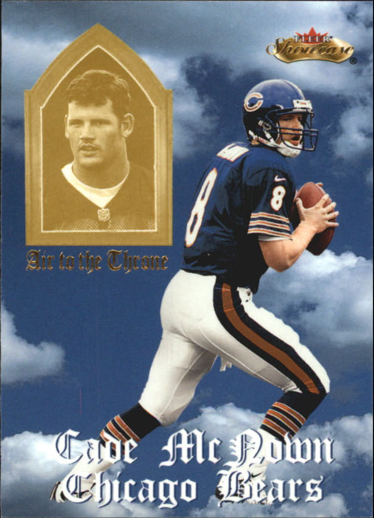 2000 Fleer Showcase Air to the Throne #9 Cade McNown