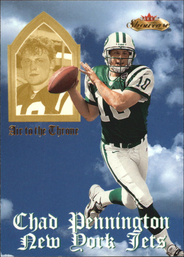 2000 Fleer Showcase Air to the Throne #10 Chad Pennington