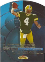 2000 Fleer Showcase License to Skill #4 Brett Favre