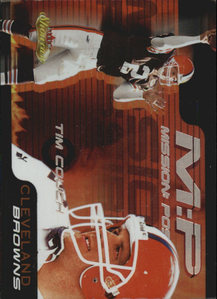 2000 Fleer Showcase Mission Possible #1 Tim Couch