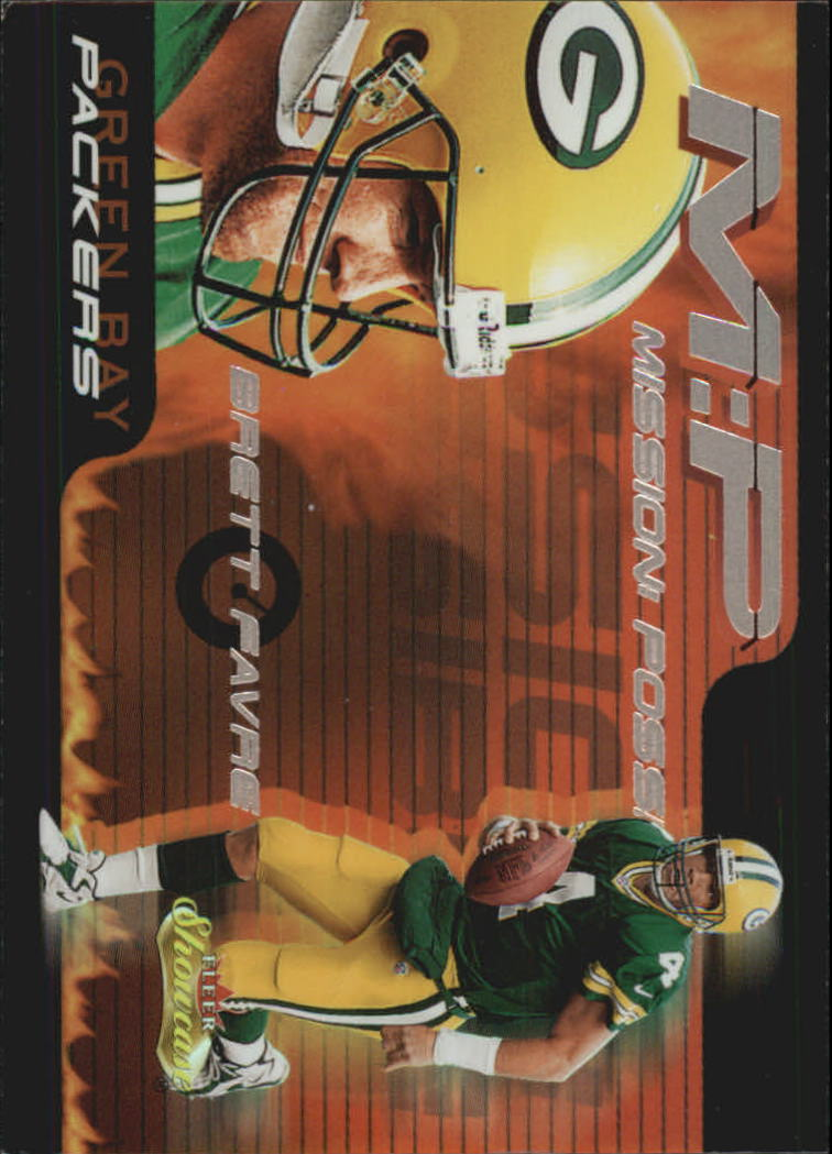 2000 Fleer Showcase Mission Possible #2 Brett Favre