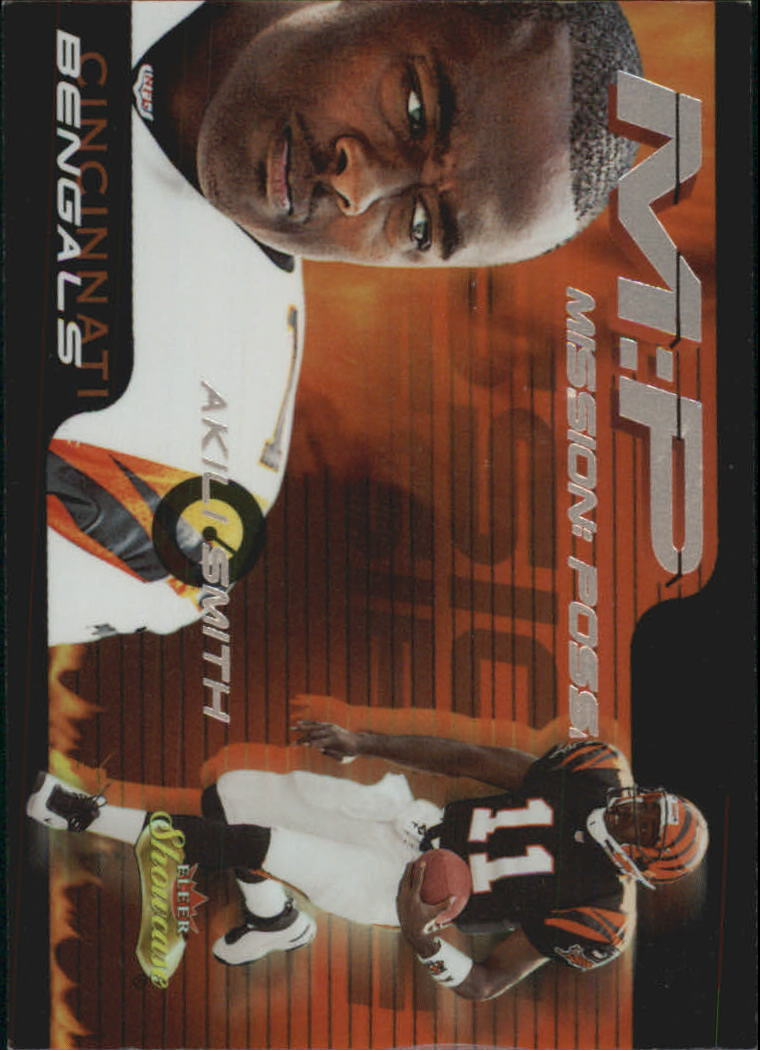 2000 Fleer Showcase Mission Possible #4 Akili Smith