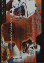 2000 Fleer Showcase Mission Possible #6 Marvin Harrison