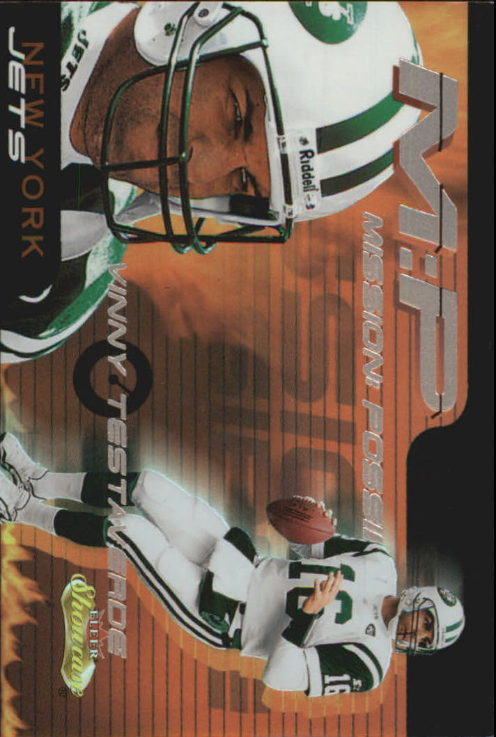 2000 Fleer Showcase Mission Possible #7 Vinny Testaverde