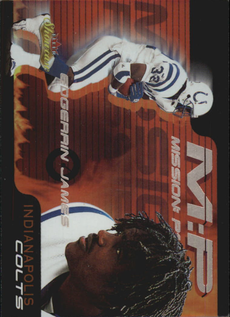 2000 Fleer Showcase Mission Possible #9 Edgerrin James