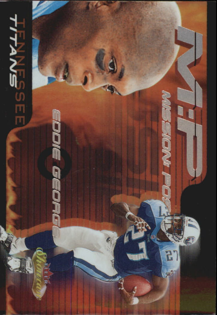 2000 Fleer Showcase Mission Possible #10 Eddie George