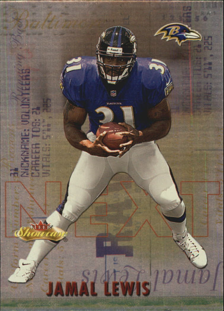 2000 Fleer Showcase Next #3 Jamal Lewis