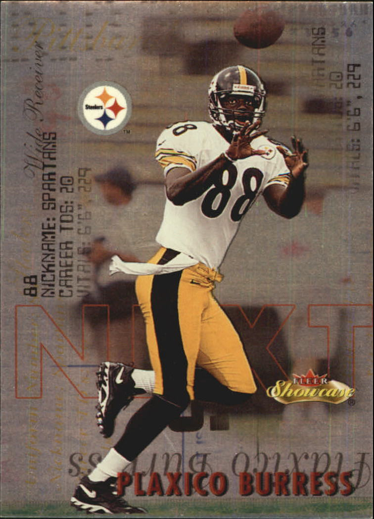 2000 Fleer Showcase Next #7 Plaxico Burress