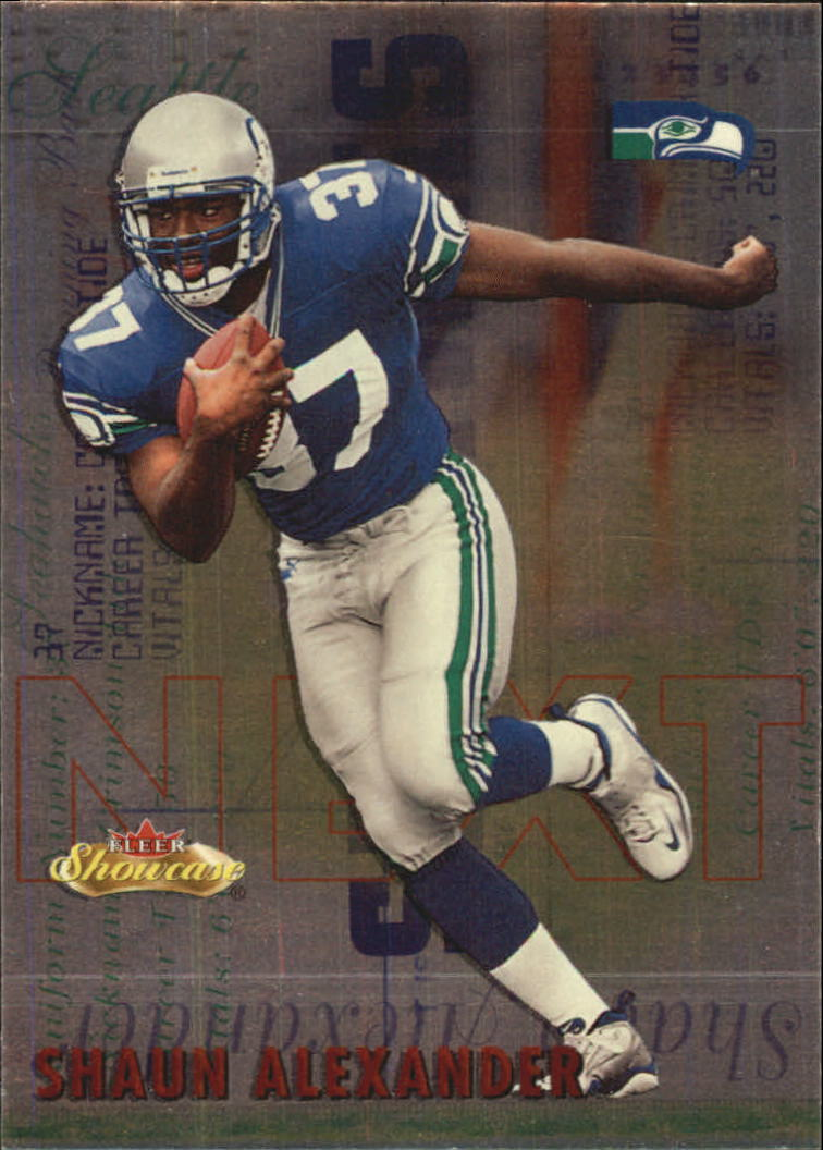 2000 Fleer Showcase Next #16 Shaun Alexander