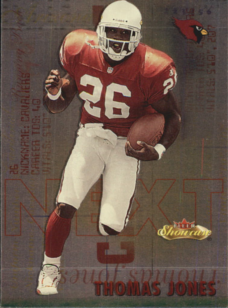 2000 Fleer Showcase Next #17 Thomas Jones