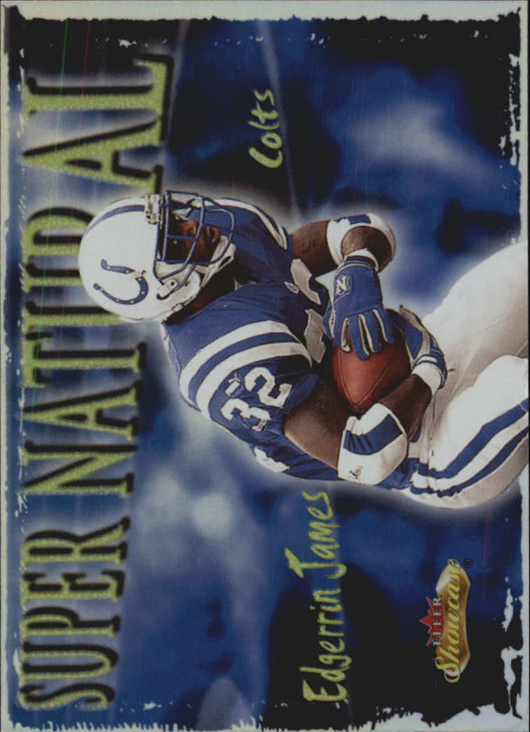 2000 Fleer Showcase Super Natural #3 Edgerrin James