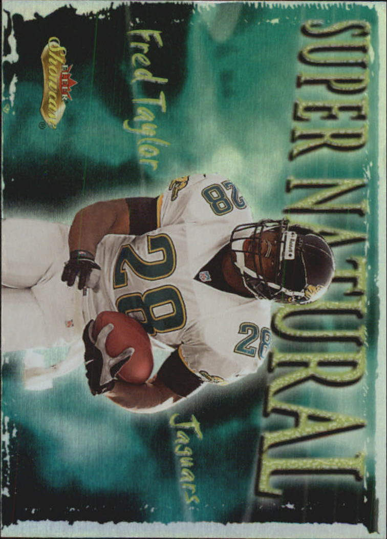 2000 Fleer Showcase Super Natural #6 Fred Taylor
