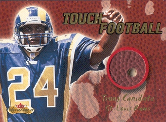 2000 Fleer Showcase Touch Football #5 Trung Canidate