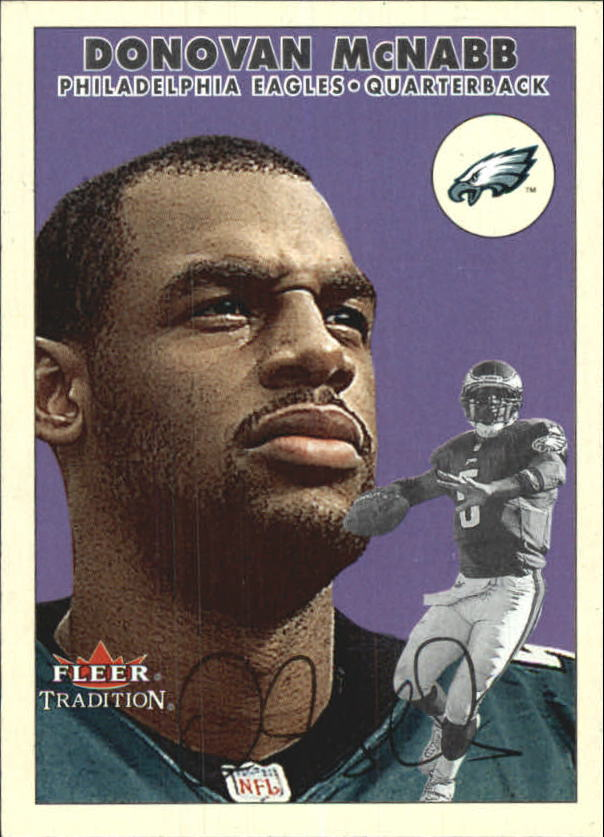 2000 Fleer Tradition #44 Donovan McNabb