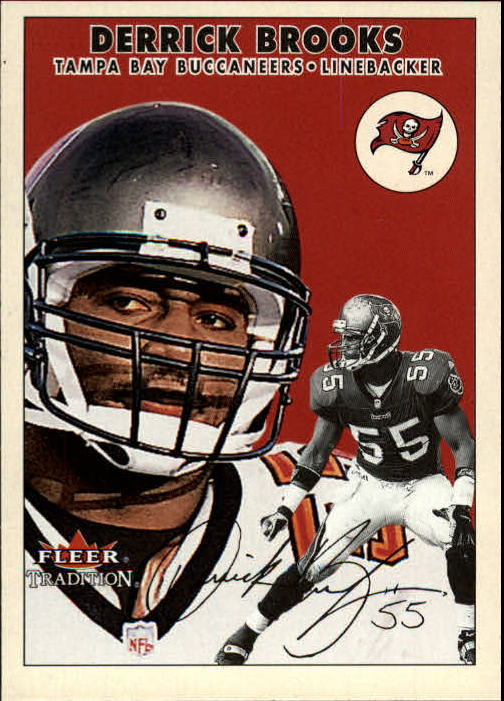 2000 Fleer Tradition #263 Derrick Brooks