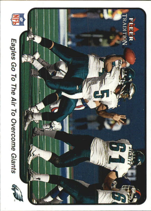 2000 Fleer Tradition #388 Philadelphia Eagles IA/Donovan McNabb