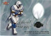 2000 Fleer Tradition Feel the Game #33 Edgerrin James