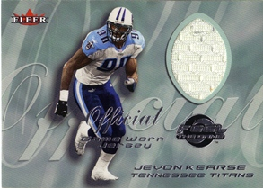 2000 Fleer Tradition Feel the Game #37 Jevon Kearse White