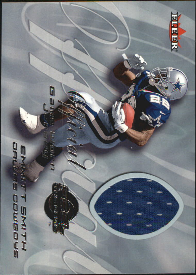 2000 Fleer Tradition Feel the Game #60 Emmitt Smith Blue