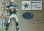 2000 Fleer Tradition Genuine Coverage #1 Troy Aikman