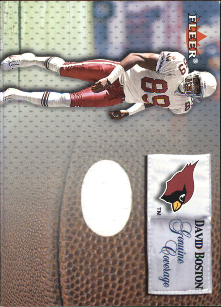 2000 Fleer Tradition Genuine Coverage #5 David Boston