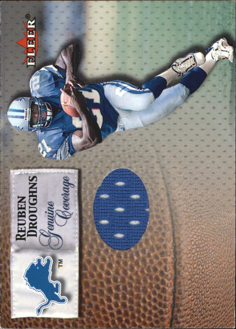 2000 Fleer Tradition Genuine Coverage #16 Reuben Droughns