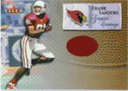 2000 Fleer Tradition Genuine Coverage #36 Frank Sanders