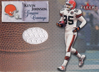 2000 Fleer Tradition Genuine Coverage #21 Kevin Johnson