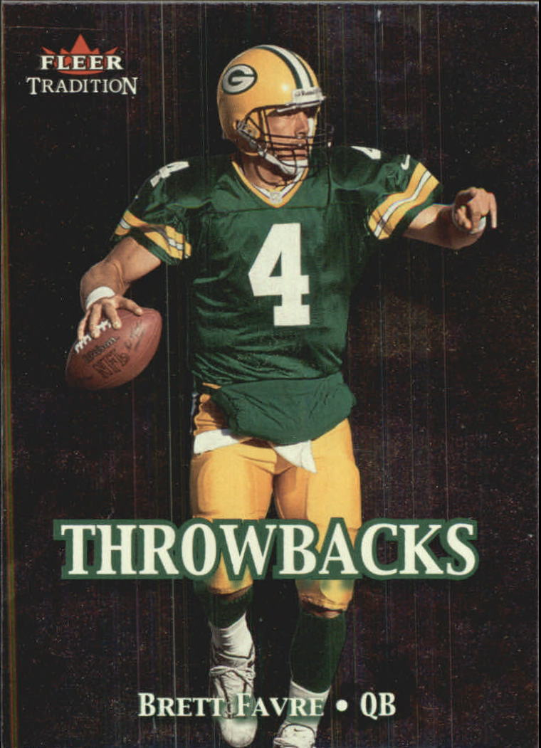 2000 Fleer Tradition Throwbacks #11 Brett Favre