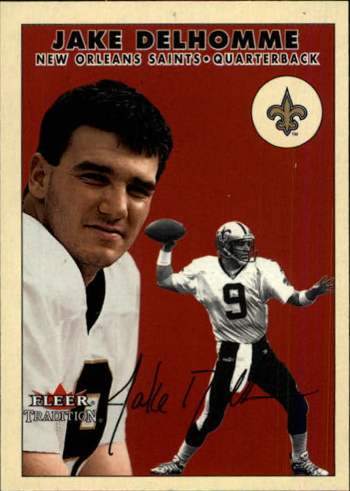 2000 Fleer Tradition Glossy #220 Jake Delhomme