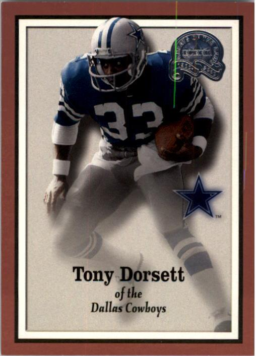 2000 Greats of the Game #3 Tony Dorsett