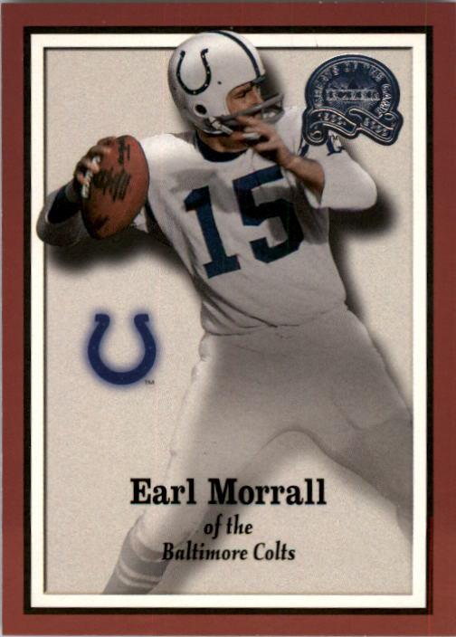 2000 Greats of the Game #11 Earl Morrall