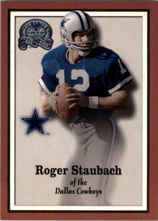 2000 Greats of the Game #15 Roger Staubach