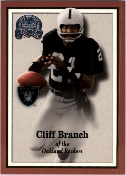 2000 Greats of the Game #17 Cliff Branch