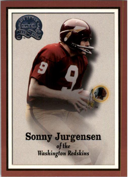 2000 Greats of the Game #18 Sonny Jurgensen