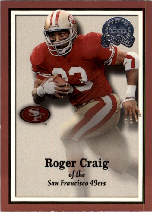 2000 Greats of the Game #21 Roger Craig front image