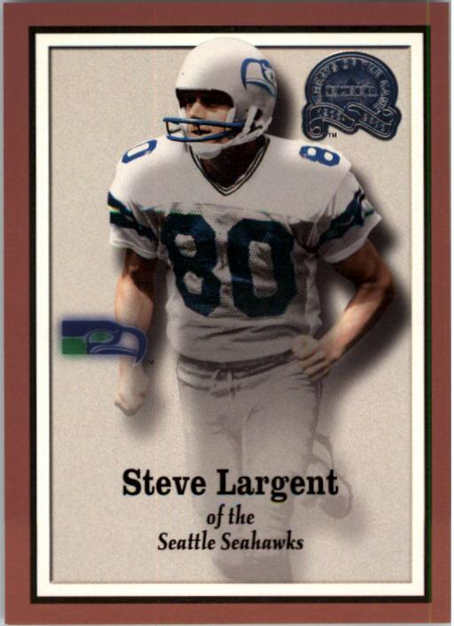 2000 Greats of the Game #24 Steve Largent front image
