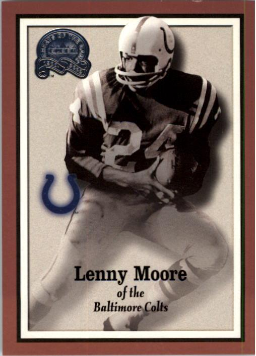 2000 Greats of the Game #25 Lenny Moore